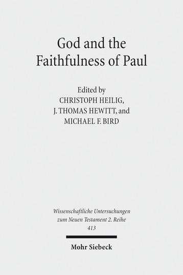 God and Faithfulness of Paul
