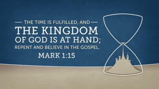 Mark 1:15 Verse Art