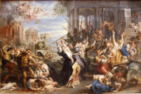 Rubens, Massacre of Innocents 2nd version